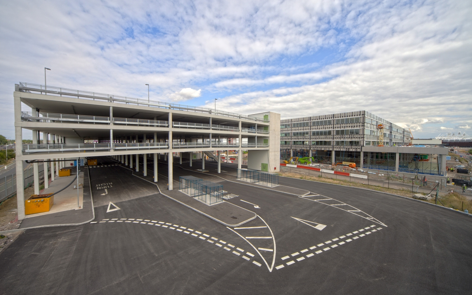 Design of car parking - The Superstructure Design Was Developed Using A Design For Manufacture And Assembly Dfma Alternative With A Precast Concrete And Component Beam
